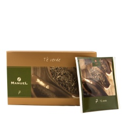 Green tea in bags Manuel Caffé Verde, 20 pcs.
