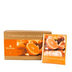 Tea in bags Manuel Caffé Oranges with mandarines, 20 pcs.