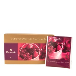 Tea in bags Manuel Caffé Forest fruits, 20 pcs.