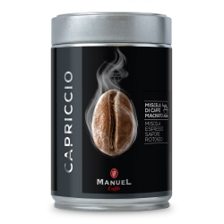 Ground coffee Manuel Caffé Capriccio, 250g