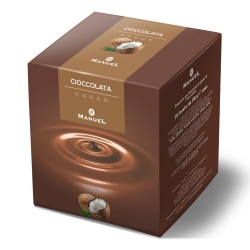 Hot chocolate Manuel Caffé Coconut, 560g
