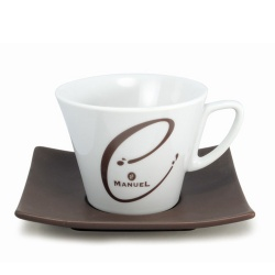 Set of cups for hot chocolate, 6 pcs.