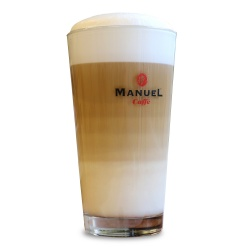 Set of glasses for Latte Macchiato, 6pcs.