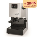 Coffee machine Gaggia Classic with gifts