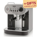 Coffee machine Gaggia Carezza Deluxe + present