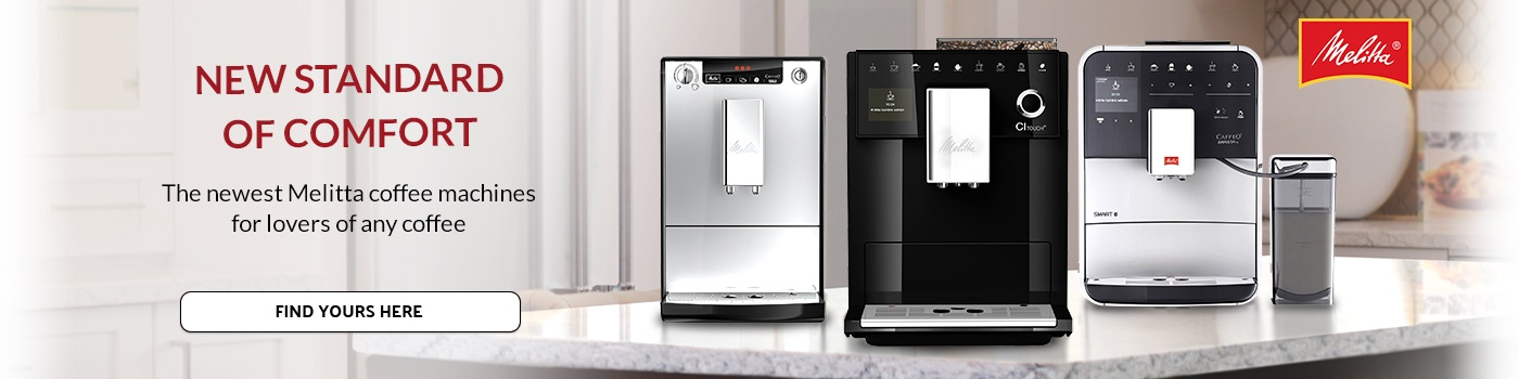 The new Melitta machines - for lovers of any coffee drink